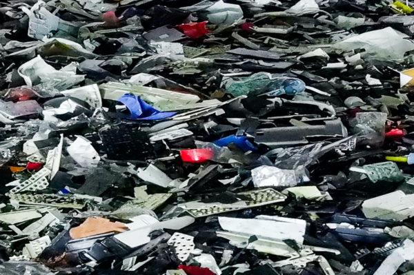 basura electrónica RAEE