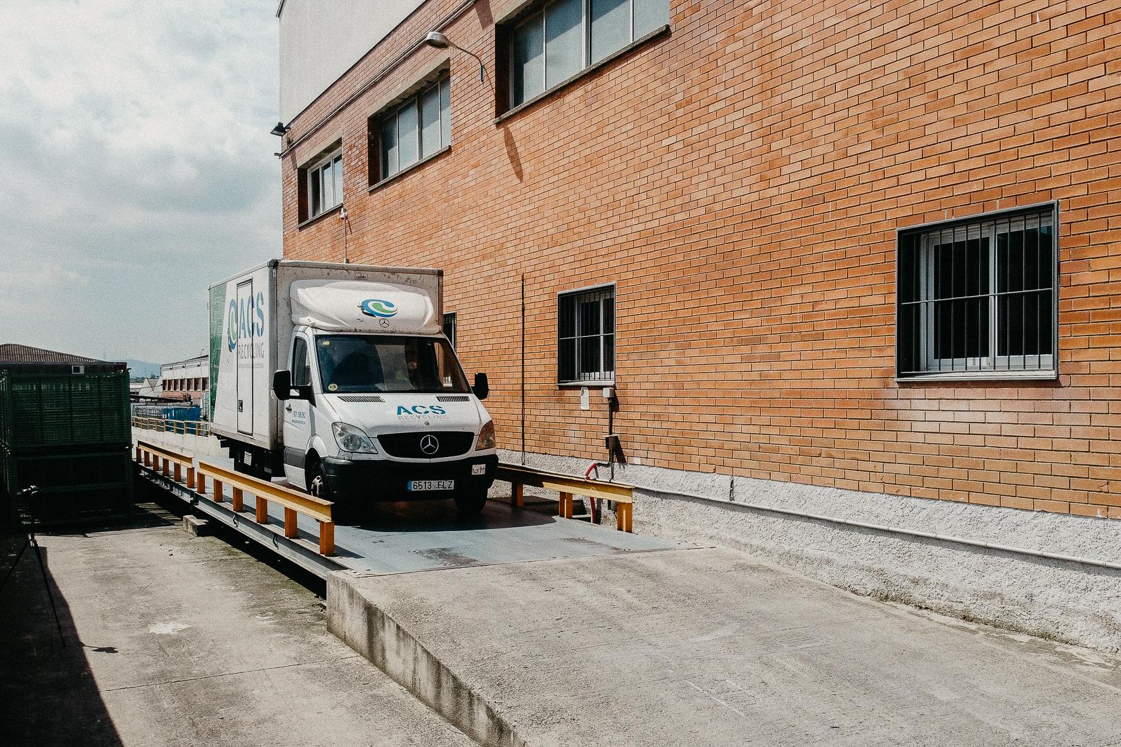 ACS Recycling Servicio de recogida de residuos RAEE