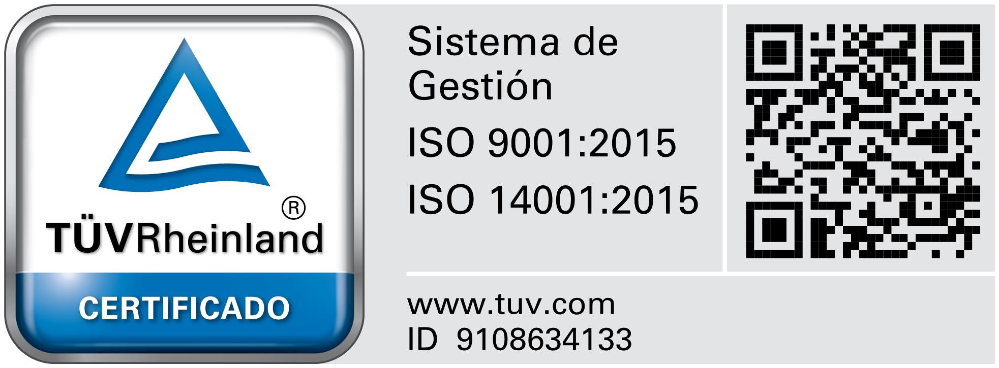 Certificado gestión residuos