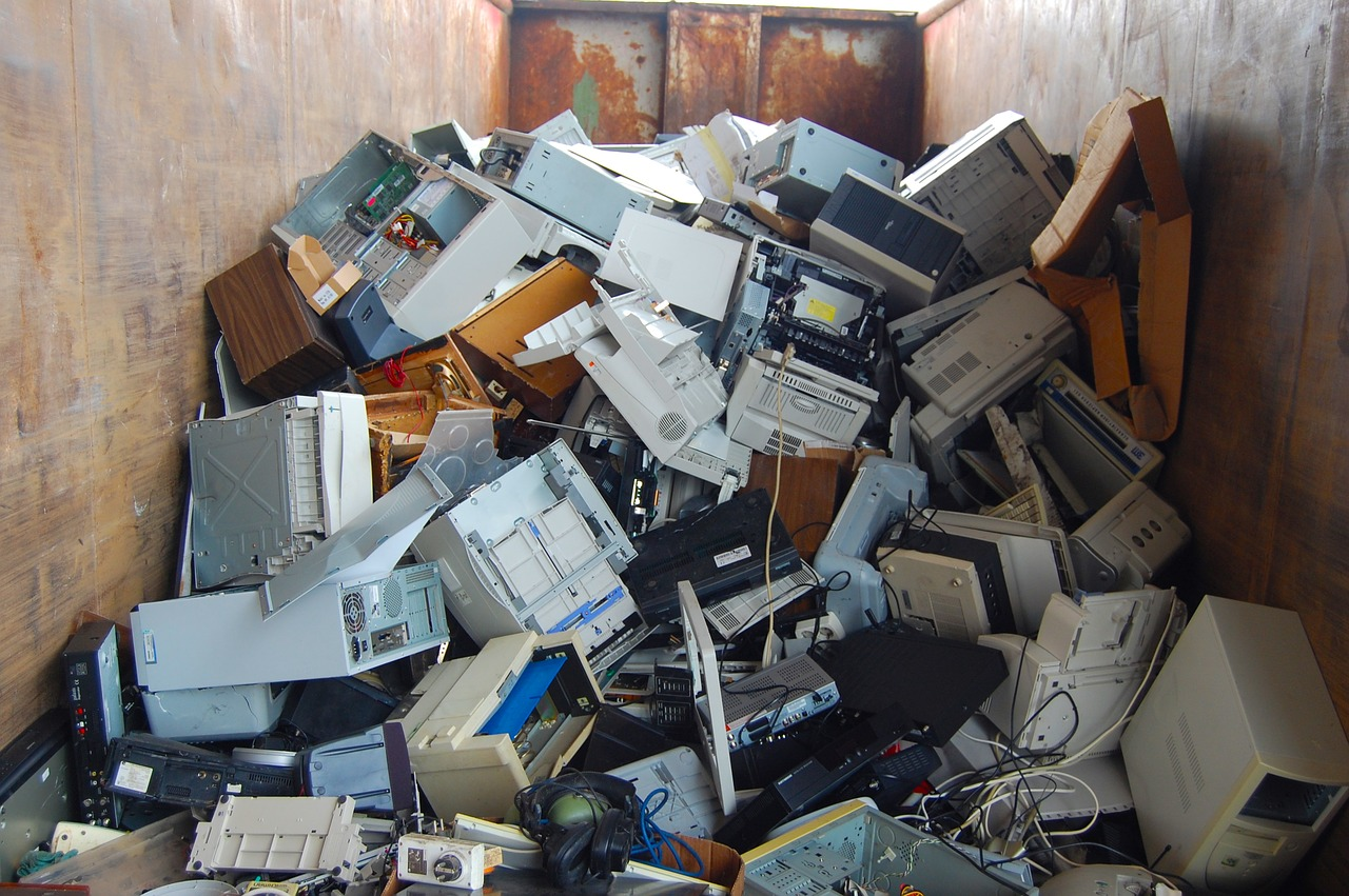 ordenadores apilados